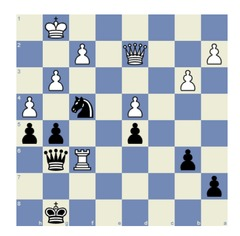 Cheparinov – Gashimov, Sochi 2008: Black made the natural move, capturing the rook, and the game ended in a draw. Do you see how Black could win? Solution below the article.