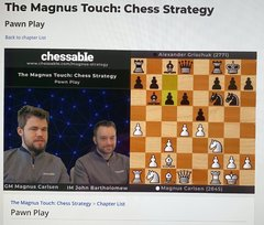 Magnus Touch is presented by the world champion together with Chessable co-founder John Bartholomew.