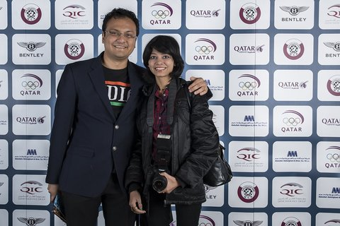 Sagar Shah and Amruta Mokal have traveled for chess a lot, with him, an International Master, writing and reporting and her, a former junior champion with four WIM norms, capturing photos and videos.