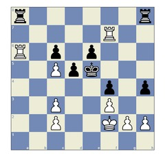 Saric – Narciso Dublan, Linares 2015: Do you see how White could have won this game here, rather than through a later blunder? Solution below the article.